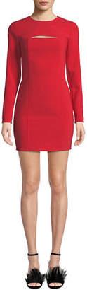 LIKELY Keller Long-Sleeve Mini Dress