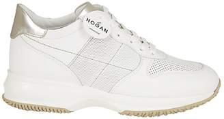 Hogan Athletic Canvas Sneakers