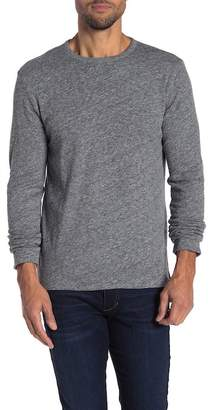 Faherty BRAND Reversible Heather Knit Crew Neck Sweater