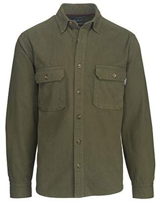 Woolrich Men's Expedition Chamois Shirt Modern Fit