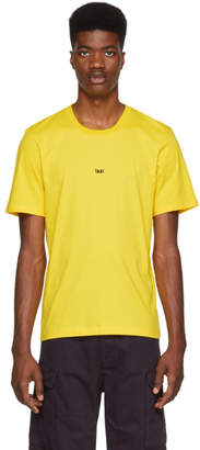 Helmut Lang Yellow Paris Taxi T-Shirt