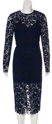 Veronica Beard Lace Midi Dress w/ Tags
