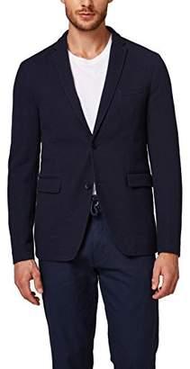Esprit Men's 088eo2g014 Blazer, (Grey 030), (Size: 52)