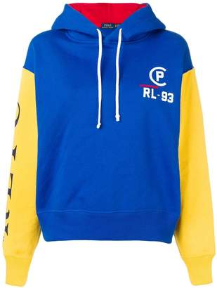 Polo Ralph Lauren contrast sleeve hoodie