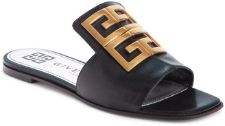 Givenchy 4G Logo Slide Sandal