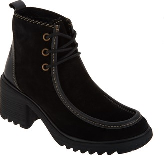 Fly London Suede Ankle Boots - Wins