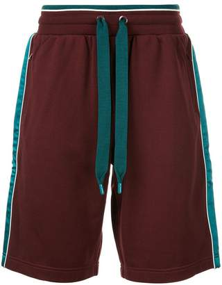 Dolce & Gabbana drawstring colour-block shorts