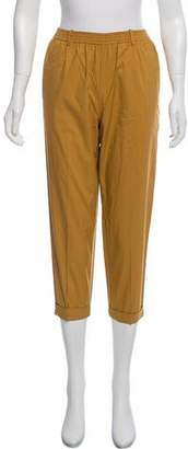 Giada Forte Mid-Rise Cropped Pants