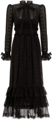 Zimmermann Verity Pintuck Long Dress