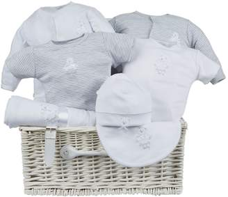 Harrods Embroidered Bear Baby Hamper