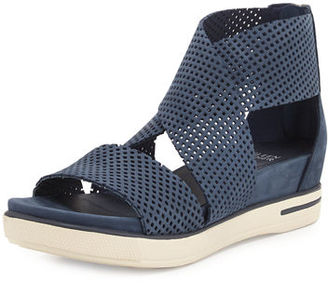 Eileen Fisher Sport Perforated Sneaker Sandal $225 thestylecure.com