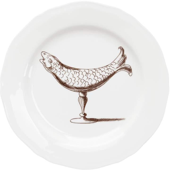Dinnerteller Mit Fisch