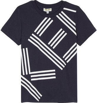 Kenzo Logo cotton T-shirt 4-16 years $49.50 thestylecure.com