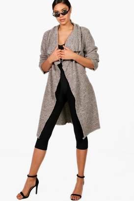 boohoo Knitted Wrap Cardigan
