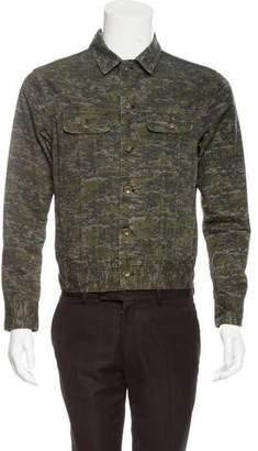 Rag & Bone Abstract Denim Jacket