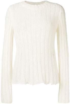 Ann Demeulemeester loose knit jumper