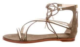 Rachel Zoe Babette Suede Sandals w/ Tags