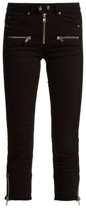 Etoile Isabel Marant Pelona Skinny Cropped Jeans - Womens - Black