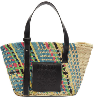 Loewe SSENSE Exclusive Multicolor Basket Tote