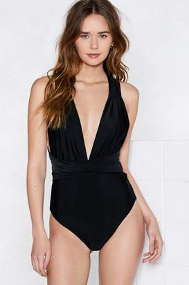 Nasty Gal V My Baby Multiway Swimsuit