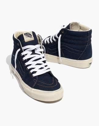 Madewell x Vans Unisex Sk8-Hi High-Top Sneakers in Dark Denim