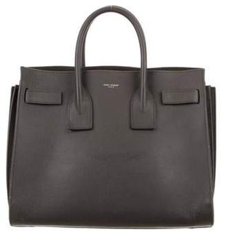 Saint Laurent Sac de Jour Satchel Grey Sac de Jour Satchel