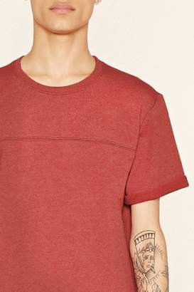 Forever 21 Cuffed Cotton-Blend Tee