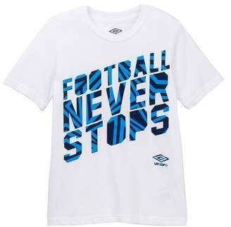 Umbro Never Stop Cotton Jersey (Big Boys)