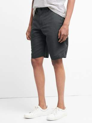 "Gap 12"" Chino Shorts in Cotton-Linen"