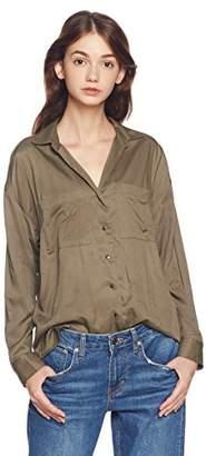 Image (イマージュネット) - (イマージュ) IMAGE ポケット付きビッグシャツ RW-4322 164 カーキ 9