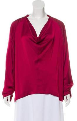 Zero Maria Cornejo Long Sleeve Evi Top