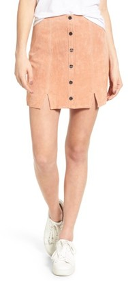 Women's Obey Soho Suede Skirt $114 thestylecure.com