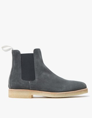 Chelsea Boot in Washed Black $529 thestylecure.com