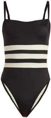 Solid & Striped X Re/Done The Malibu colour-block swimsuit