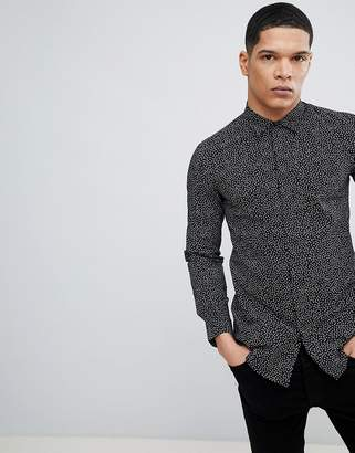 Antony Morato Shirt With Mini Circle Dot Print