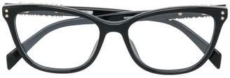 Moschino cat-eye shaped glasses