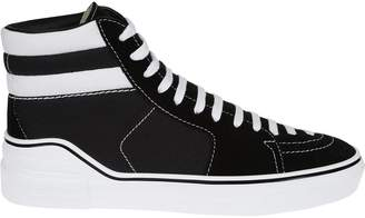 Givenchy Striped Hi-top Sneakers