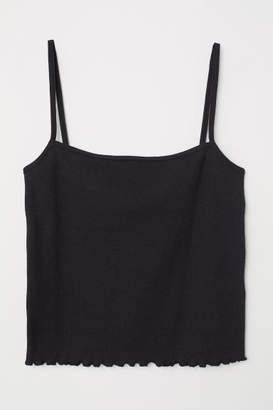 H&M Short Camisole Top - Black
