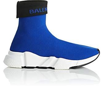Balenciaga Women's Speed Knit Sneakers - Blue