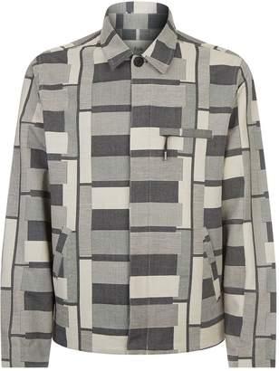 Folk Striped Jacquard Jacket