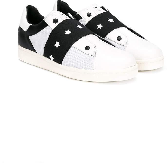 Moa Kids star detailing slip-on sneakers