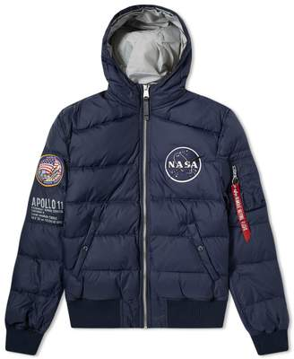 Alpha Industries Apollo 11 Hooded Puffer Jacket