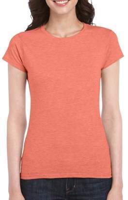 Gildan Women's Short Sleeve Fitted T-Shirt