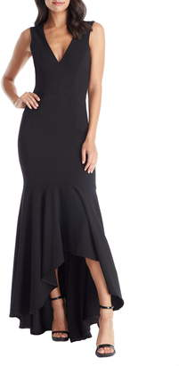 Dress the Population Demi High/Low Mermaid Hem Evening Dress