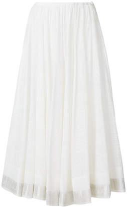 Etro patterned long skirt