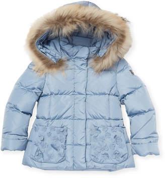 Il Gufo Fur-Trim Puffer Jacket