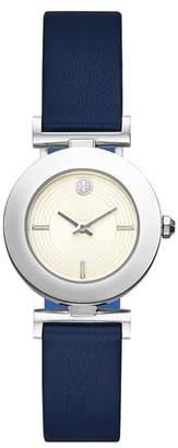 Tory Burch Sawyer Reversible Leather Strap Watch, 29mm
