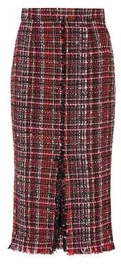 Alexander McQueen Tweed skirt