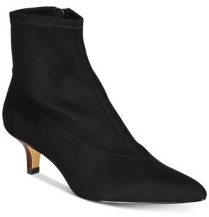 Bella Vita Stephanie Ii Kitten-Heel Booties Women's Shoes