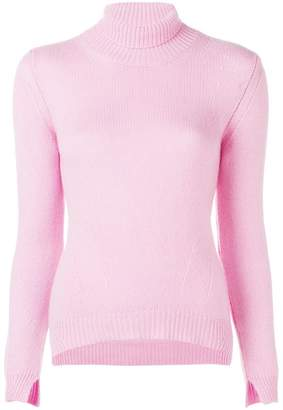 Ermanno Scervino ribbed turtleneck sweater